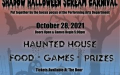 Shadow Halloween Scream Carnival