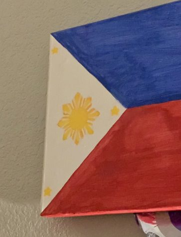 The Filipino flag shares a deep blue and red with the yellow sun and stars brightening its look
