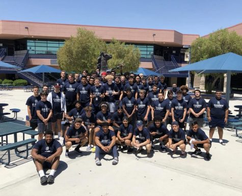 Varsity football headed to SUU Football Camp