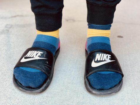 Wyatt Noyas socks n sandals look